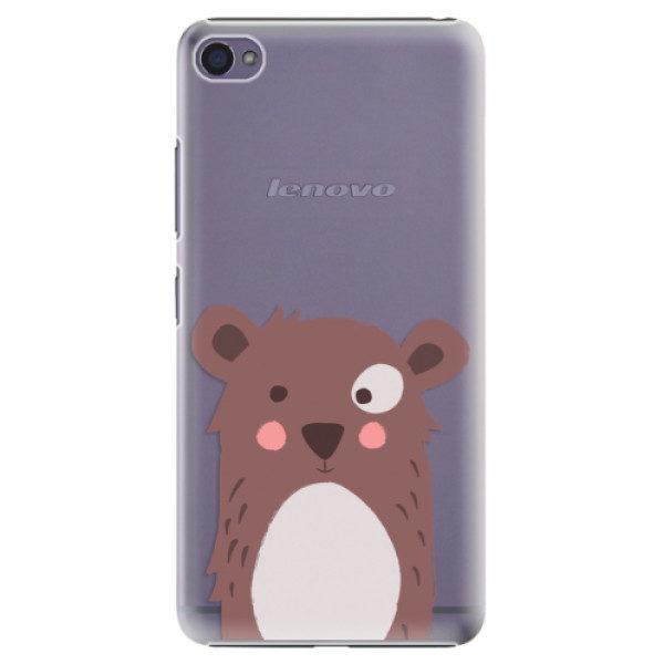 Plastové pouzdro iSaprio – Brown Bear – Lenovo S90 Plastové pouzdro iSaprio – Brown Bear – Lenovo S90