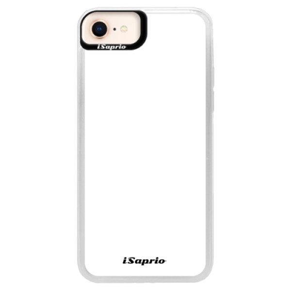 Neonové pouzdro Blue iSaprio – 4Pure – bílý – iPhone 8 Neonové pouzdro Blue iSaprio – 4Pure – bílý – iPhone 8