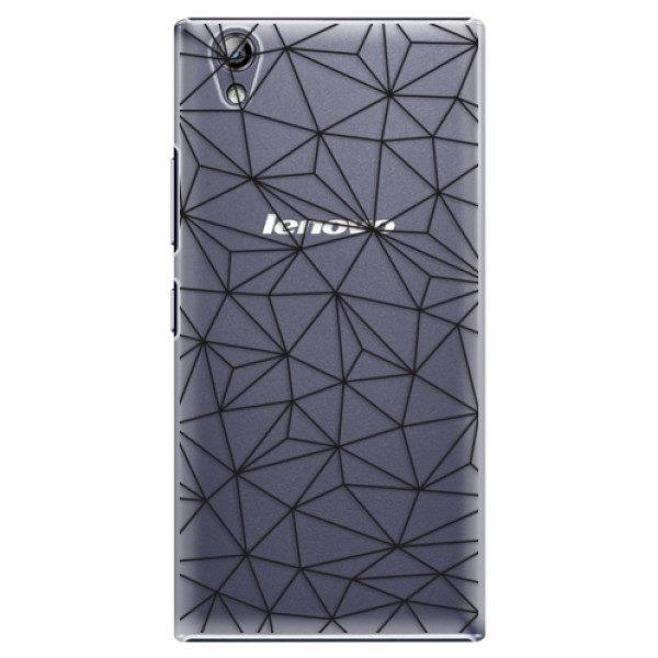 Plastové pouzdro iSaprio – Abstract Triangles 03 – black – Lenovo P70 Plastové pouzdro iSaprio – Abstract Triangles 03 – black – Lenovo P70