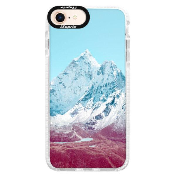 Silikonové pouzdro Bumper iSaprio – Highest Mountains 01 – iPhone 8 Silikonové pouzdro Bumper iSaprio – Highest Mountains 01 – iPhone 8