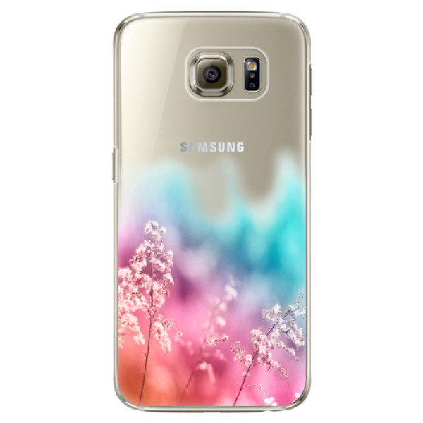 Plastové pouzdro iSaprio – Rainbow Grass – Samsung Galaxy S6 Edge Plastové pouzdro iSaprio – Rainbow Grass – Samsung Galaxy S6 Edge