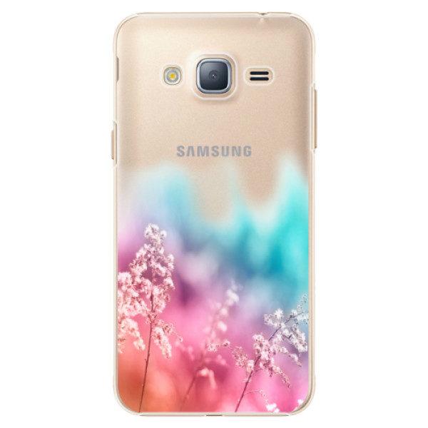 Plastové pouzdro iSaprio – Rainbow Grass – Samsung Galaxy J3 2016 Plastové pouzdro iSaprio – Rainbow Grass – Samsung Galaxy J3 2016