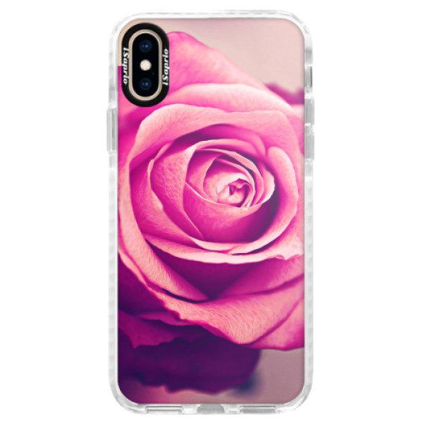 Silikonové pouzdro Bumper iSaprio – Orange Water – iPhone XS Silikonové pouzdro Bumper iSaprio – Orange Water – iPhone XS