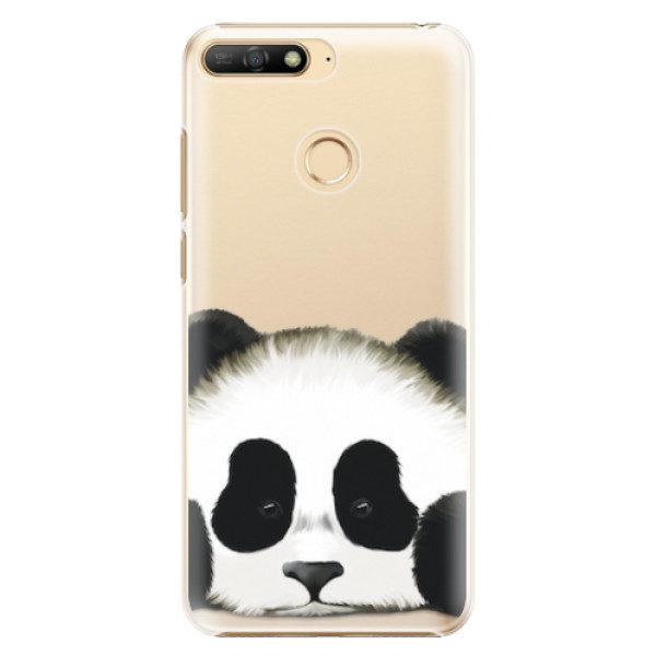 Plastové pouzdro iSaprio – Sad Panda – Huawei Y6 Prime 2018 Plastové pouzdro iSaprio – Sad Panda – Huawei Y6 Prime 2018