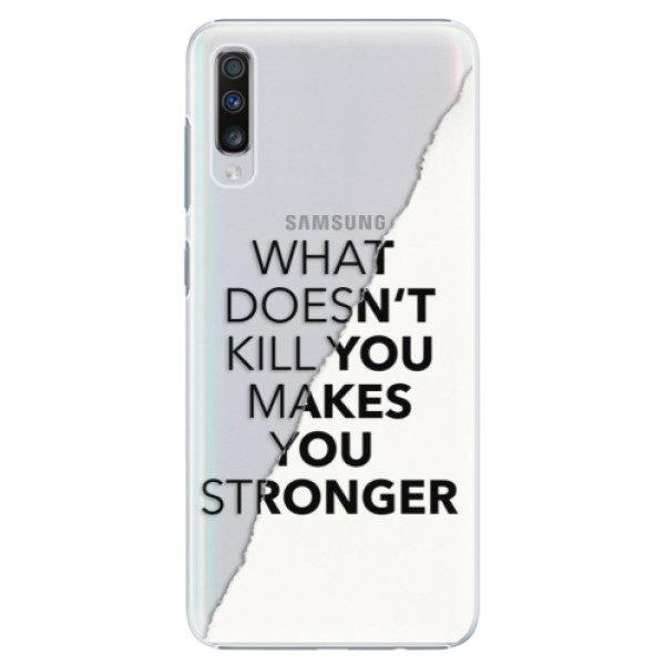 Plastové pouzdro iSaprio – Makes You Stronger – Samsung Galaxy A70 Plastové pouzdro iSaprio – Makes You Stronger – Samsung Galaxy A70