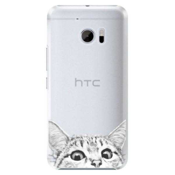 Plastové pouzdro iSaprio – Abstract Triangles 03 – black – HTC 10 Plastové pouzdro iSaprio – Abstract Triangles 03 – black – HTC 10