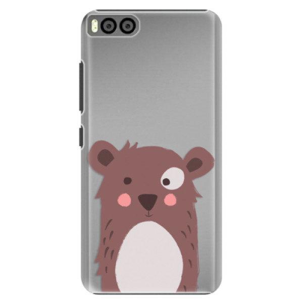 Plastové pouzdro iSaprio – Brown Bear – Xiaomi Mi6 Plastové pouzdro iSaprio – Brown Bear – Xiaomi Mi6