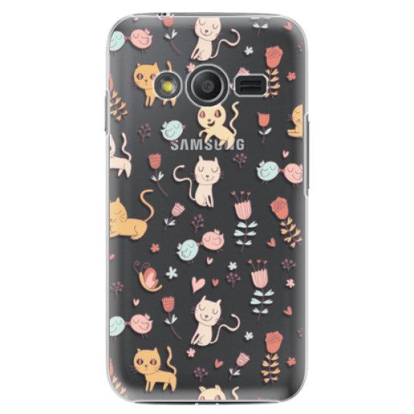 Plastové pouzdro iSaprio – Cat pattern 02 – Samsung Galaxy Trend 2 Lite Plastové pouzdro iSaprio – Cat pattern 02 – Samsung Galaxy Trend 2 Lite