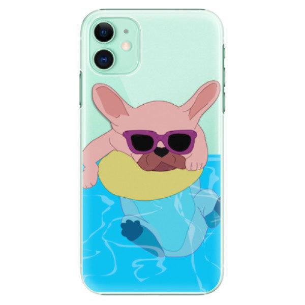 Plastové pouzdro iSaprio – Swimming Dog – iPhone 11 Plastové pouzdro iSaprio – Swimming Dog – iPhone 11
