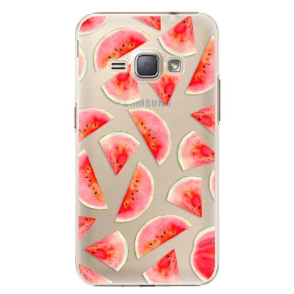 Plastové pouzdro iSaprio – Melon Pattern 02 – Samsung Galaxy J1 2016 Plastové pouzdro iSaprio – Melon Pattern 02 – Samsung Galaxy J1 2016