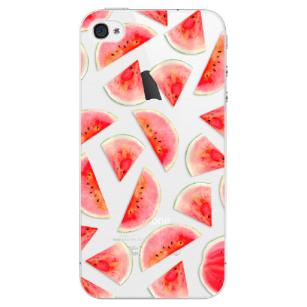 Plastové pouzdro iSaprio – Melon Pattern 02 – iPhone 4/4S Plastové pouzdro iSaprio – Melon Pattern 02 – iPhone 4/4S