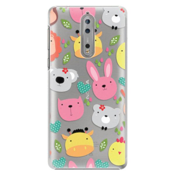 Plastové pouzdro iSaprio – Animals 01 – Nokia 8 Plastové pouzdro iSaprio – Animals 01 – Nokia 8