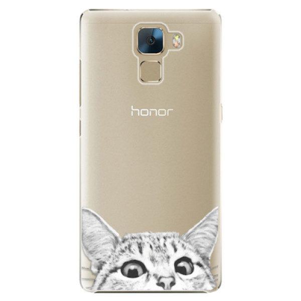 Plastové pouzdro iSaprio – Cat 02 – Huawei Honor 7 Plastové pouzdro iSaprio – Cat 02 – Huawei Honor 7