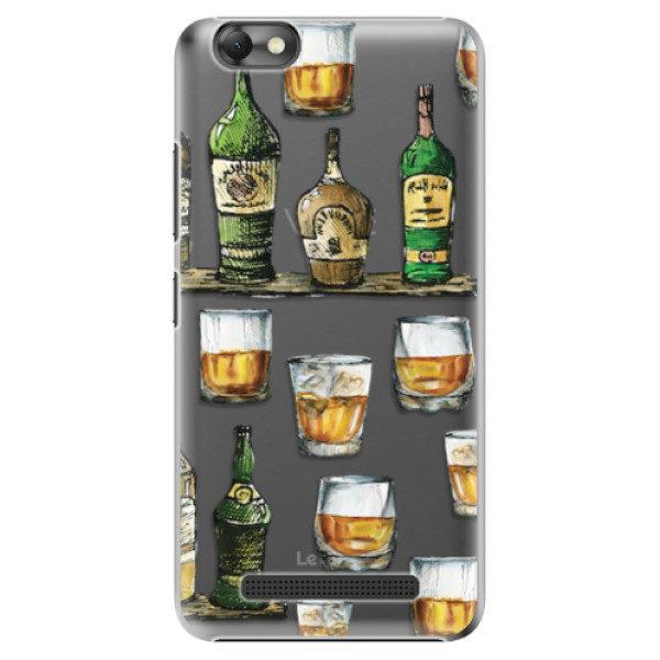 Plastové pouzdro iSaprio – Whisky pattern – Lenovo Vibe C Plastové pouzdro iSaprio – Whisky pattern – Lenovo Vibe C