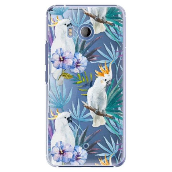 Plastové pouzdro iSaprio – Parrot Pattern 01 – HTC U11 Plastové pouzdro iSaprio – Parrot Pattern 01 – HTC U11