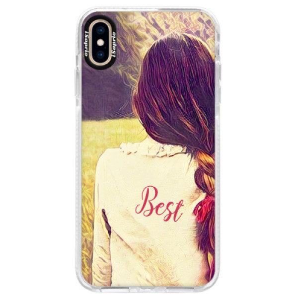 Silikonové pouzdro Bumper iSaprio – BF Best – iPhone XS Max Silikonové pouzdro Bumper iSaprio – BF Best – iPhone XS Max