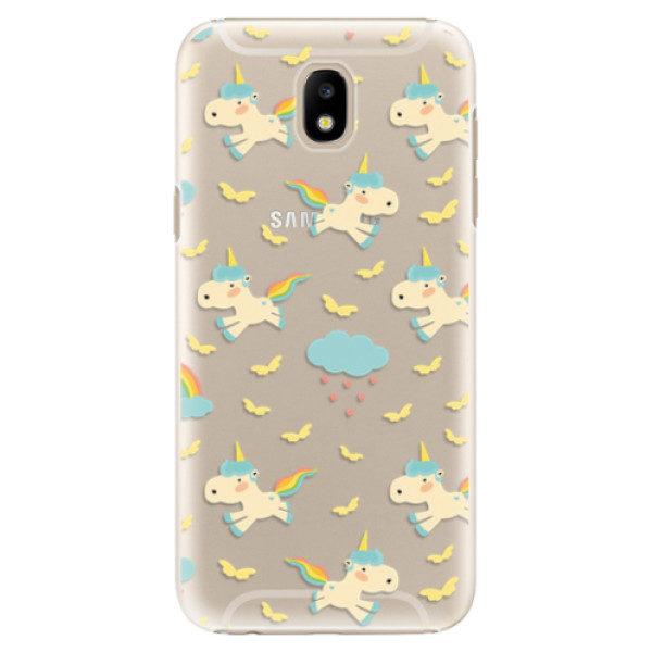 Plastové pouzdro iSaprio – Unicorn pattern 01 – Samsung Galaxy J5 2017 Plastové pouzdro iSaprio – Unicorn pattern 01 – Samsung Galaxy J5 2017