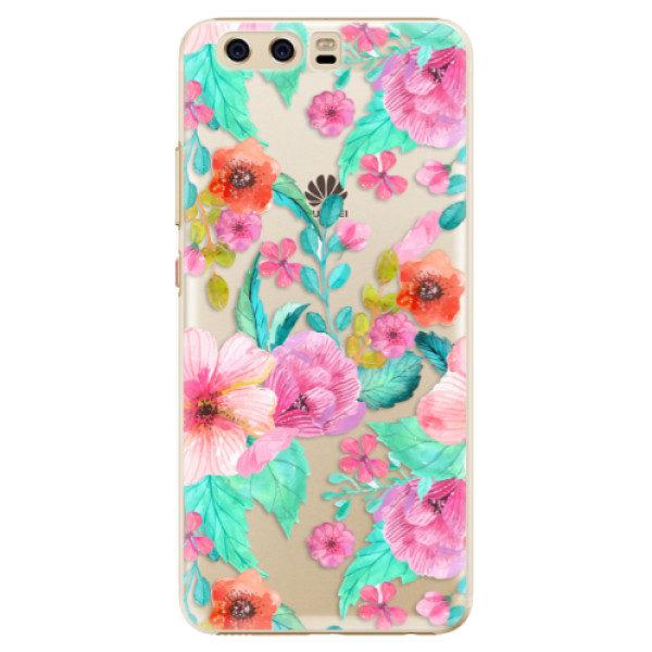 Plastové pouzdro iSaprio – Flower Pattern 01 – Huawei P10 Plastové pouzdro iSaprio – Flower Pattern 01 – Huawei P10
