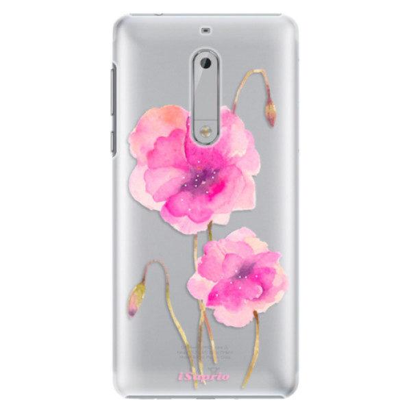 Plastové pouzdro iSaprio – Poppies 02 – Nokia 5 Plastové pouzdro iSaprio – Poppies 02 – Nokia 5