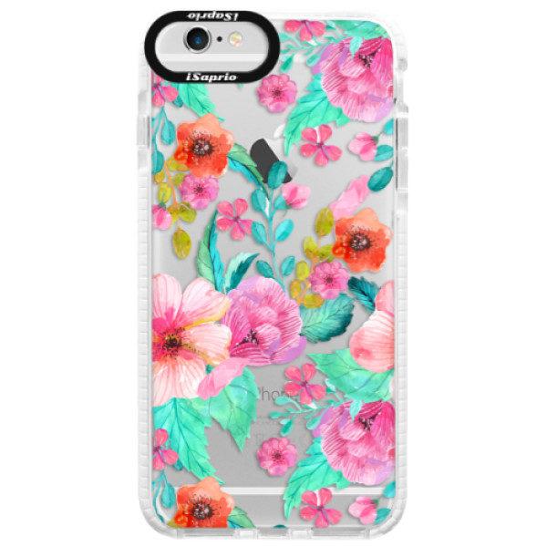 Silikonové pouzdro Bumper iSaprio – Flower Pattern 01 – iPhone 6 Plus/6S Plus Silikonové pouzdro Bumper iSaprio – Flower Pattern 01 – iPhone 6 Plus/6S Plus