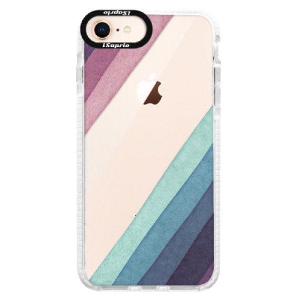 Silikonové pouzdro Bumper iSaprio – Glitter Stripes 01 – iPhone 8 Silikonové pouzdro Bumper iSaprio – Glitter Stripes 01 – iPhone 8