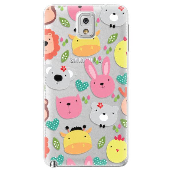 Plastové pouzdro iSaprio – Animals 01 – Samsung Galaxy Note 3 Plastové pouzdro iSaprio – Animals 01 – Samsung Galaxy Note 3