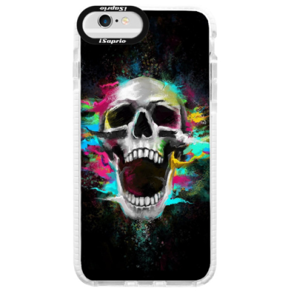 Silikonové pouzdro Bumper iSaprio – Skull in Colors – iPhone 6/6S Silikonové pouzdro Bumper iSaprio – Skull in Colors – iPhone 6/6S