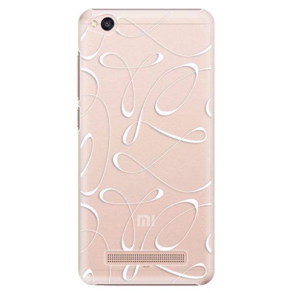 Plastové pouzdro iSaprio – Fancy – white – Xiaomi Redmi 4A Plastové pouzdro iSaprio – Fancy – white – Xiaomi Redmi 4A