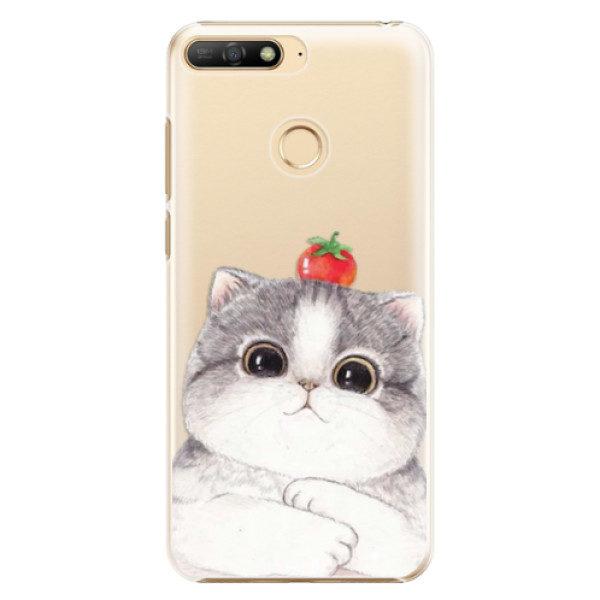 Plastové pouzdro iSaprio – Cat 03 – Huawei Y6 Prime 2018 Plastové pouzdro iSaprio – Cat 03 – Huawei Y6 Prime 2018