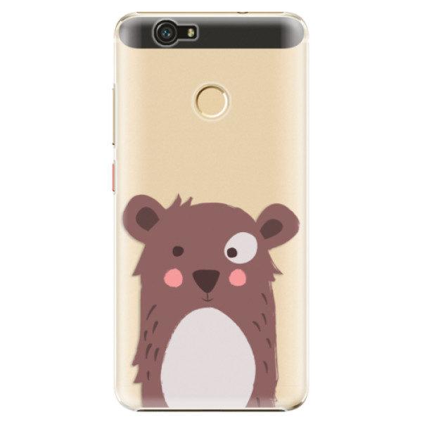 Plastové pouzdro iSaprio – Brown Bear – Huawei Nova Plastové pouzdro iSaprio – Brown Bear – Huawei Nova