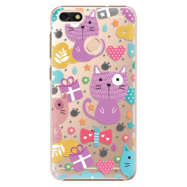Plastové pouzdro iSaprio – Cat pattern 01 – Huawei P9 Lite Mini Plastové pouzdro iSaprio – Cat pattern 01 – Huawei P9 Lite Mini