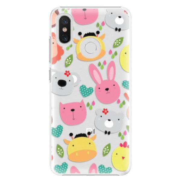 Plastové pouzdro iSaprio – Animals 01 – Xiaomi Mi 8 Plastové pouzdro iSaprio – Animals 01 – Xiaomi Mi 8