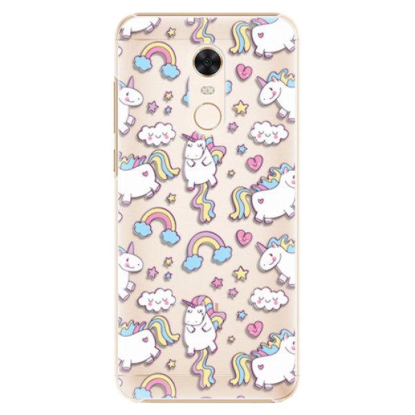 Plastové pouzdro iSaprio – Unicorn pattern 02 – Xiaomi Redmi 5 Plus Plastové pouzdro iSaprio – Unicorn pattern 02 – Xiaomi Redmi 5 Plus