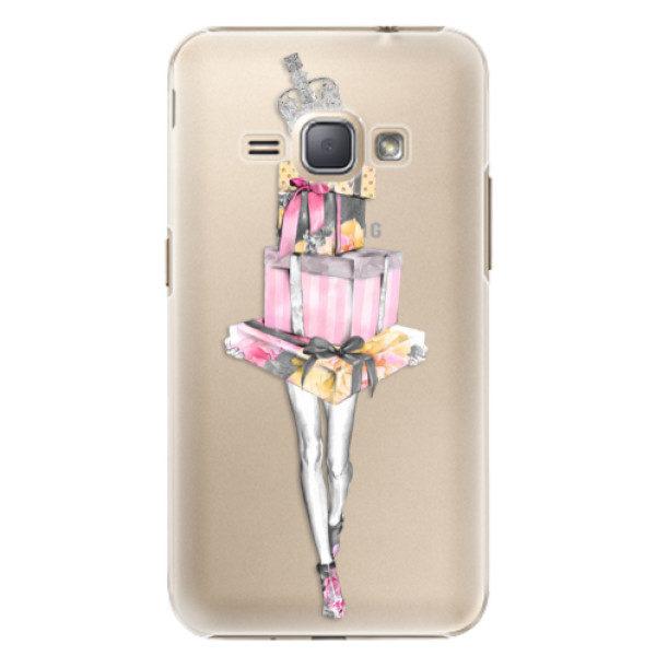 Plastové pouzdro iSaprio – Queen of Shopping – Samsung Galaxy J1 2016 Plastové pouzdro iSaprio – Queen of Shopping – Samsung Galaxy J1 2016