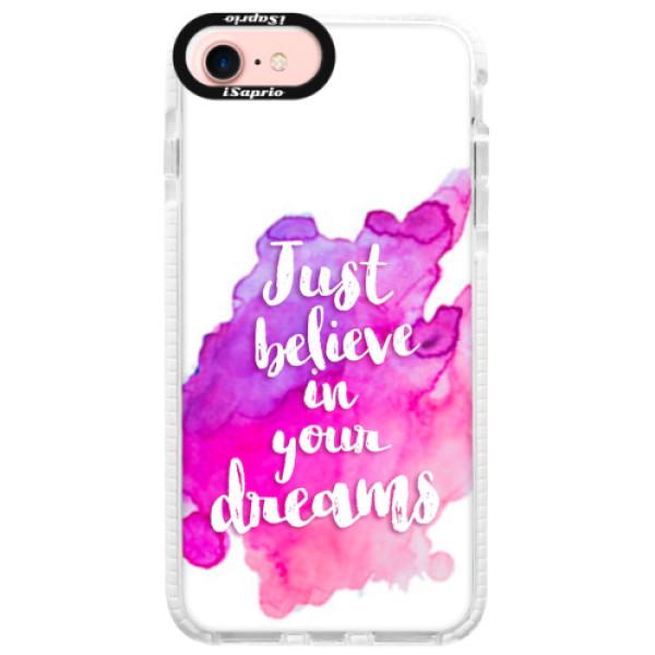 Silikonové pouzdro Bumper iSaprio – Believe – iPhone 7 Silikonové pouzdro Bumper iSaprio – Believe – iPhone 7