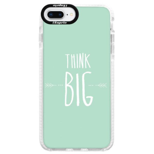 Silikonové pouzdro Bumper iSaprio – Think Big – iPhone 8 Plus Silikonové pouzdro Bumper iSaprio – Think Big – iPhone 8 Plus
