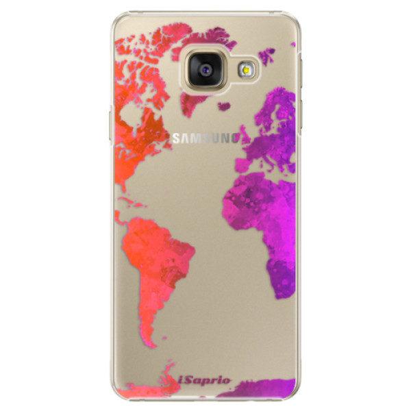 Plastové pouzdro iSaprio – Warm Map – Samsung Galaxy A5 2016 Plastové pouzdro iSaprio – Warm Map – Samsung Galaxy A5 2016