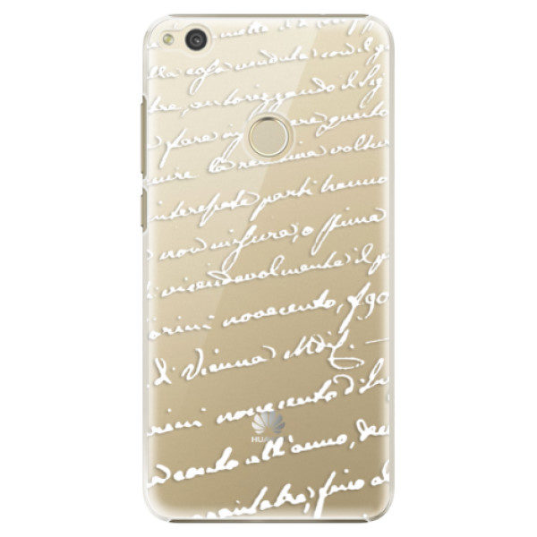 Plastové pouzdro iSaprio – Handwriting 01 – white – Huawei P9 Lite 2017 Plastové pouzdro iSaprio – Handwriting 01 – white – Huawei P9 Lite 2017