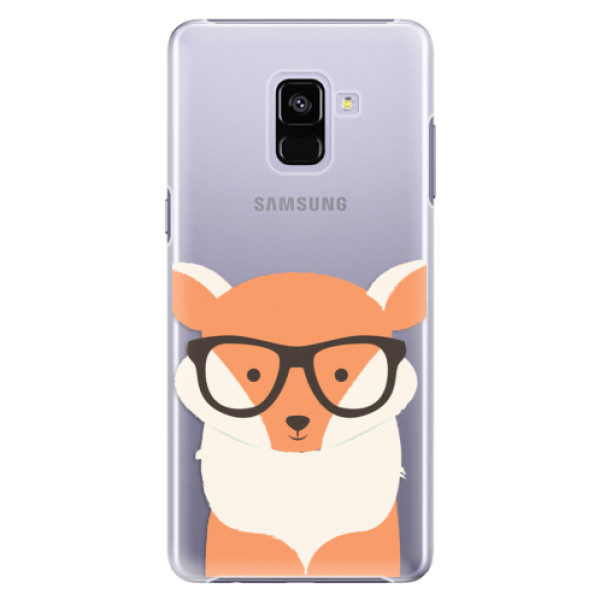 Plastové pouzdro iSaprio – Orange Fox – Samsung Galaxy A8+ Plastové pouzdro iSaprio – Orange Fox – Samsung Galaxy A8+