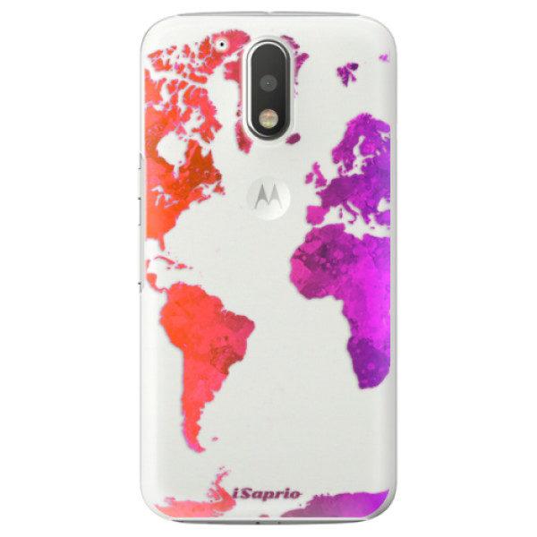 Plastové pouzdro iSaprio – Warm Map – Lenovo Moto G4 / G4 Plus Plastové pouzdro iSaprio – Warm Map – Lenovo Moto G4 / G4 Plus