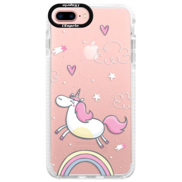 Silikonové pouzdro Bumper iSaprio – Unicorn 01 – iPhone 7 Plus Silikonové pouzdro Bumper iSaprio – Unicorn 01 – iPhone 7 Plus