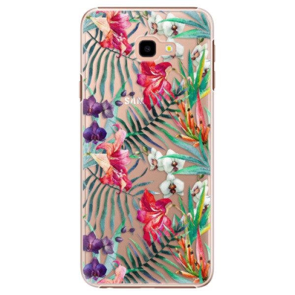 Plastové pouzdro iSaprio – Flower Pattern 03 – Samsung Galaxy J4+ Plastové pouzdro iSaprio – Flower Pattern 03 – Samsung Galaxy J4+
