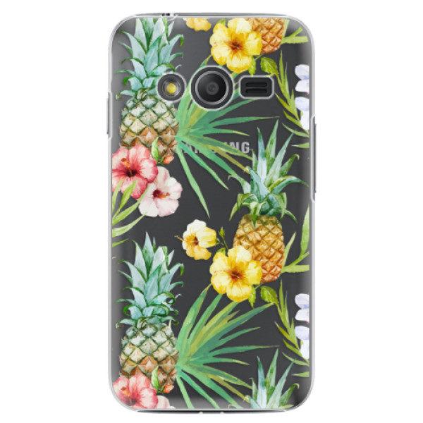 Plastové pouzdro iSaprio – Pineapple Pattern 02 – Samsung Galaxy Trend 2 Lite Plastové pouzdro iSaprio – Pineapple Pattern 02 – Samsung Galaxy Trend 2 Lite