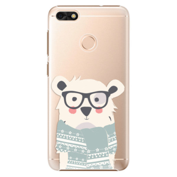 Plastové pouzdro iSaprio – Bear with Scarf – Huawei P9 Lite Mini Plastové pouzdro iSaprio – Bear with Scarf – Huawei P9 Lite Mini