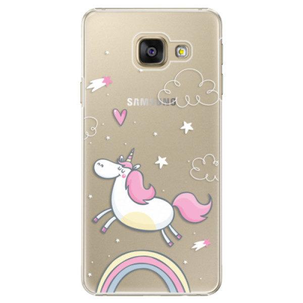 Plastové pouzdro iSaprio – Unicorn 01 – Samsung Galaxy A3 2016 Plastové pouzdro iSaprio – Unicorn 01 – Samsung Galaxy A3 2016