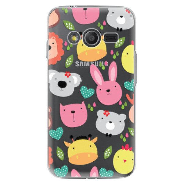 Plastové pouzdro iSaprio – Animals 01 – Samsung Galaxy Trend 2 Lite Plastové pouzdro iSaprio – Animals 01 – Samsung Galaxy Trend 2 Lite