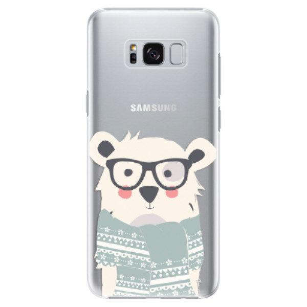 Plastové pouzdro iSaprio – Bear with Scarf – Samsung Galaxy S8 Plus Plastové pouzdro iSaprio – Bear with Scarf – Samsung Galaxy S8 Plus