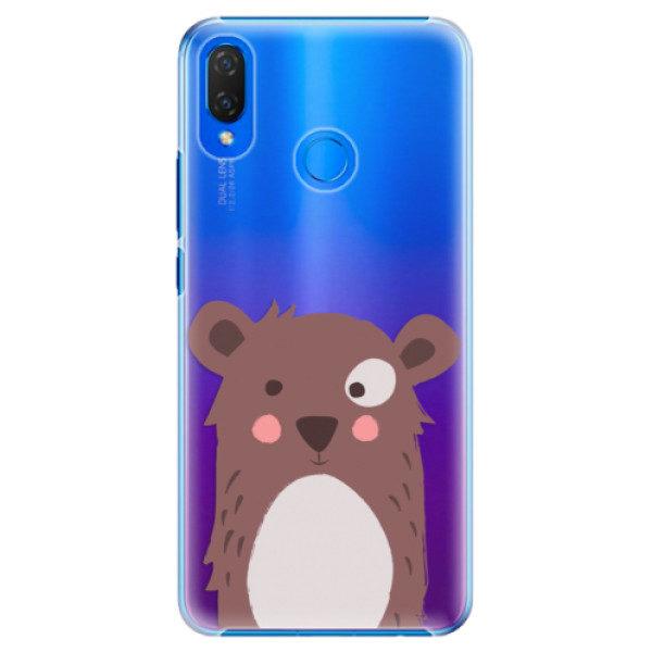 Plastové pouzdro iSaprio – Brown Bear – Huawei Nova 3i Plastové pouzdro iSaprio – Brown Bear – Huawei Nova 3i