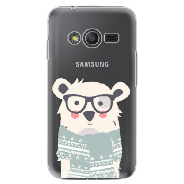 Plastové pouzdro iSaprio – Bear with Scarf – Samsung Galaxy Trend 2 Lite Plastové pouzdro iSaprio – Bear with Scarf – Samsung Galaxy Trend 2 Lite