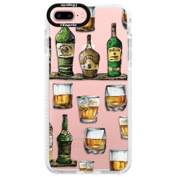 Silikonové pouzdro Bumper iSaprio – Whisky pattern – iPhone 7 Plus Silikonové pouzdro Bumper iSaprio – Whisky pattern – iPhone 7 Plus